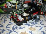 Lego Hearse with Side Pipes